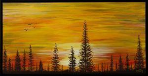 Blazing Pines