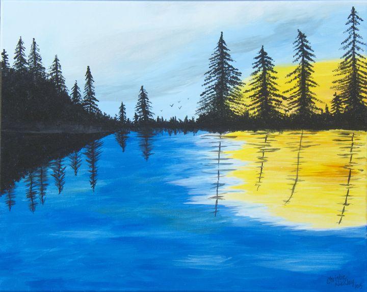 Minnesota Lakes - Christie Nicklay Art