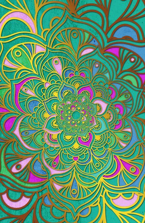 Mandala - Colours - Alexandre Ibáñez