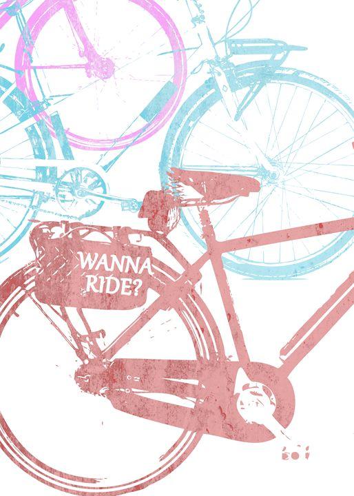 Wanna ride? - Alexandre Ibáñez