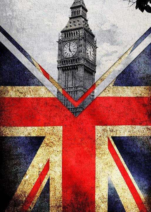 Flags - UK - Alexandre Ibáñez