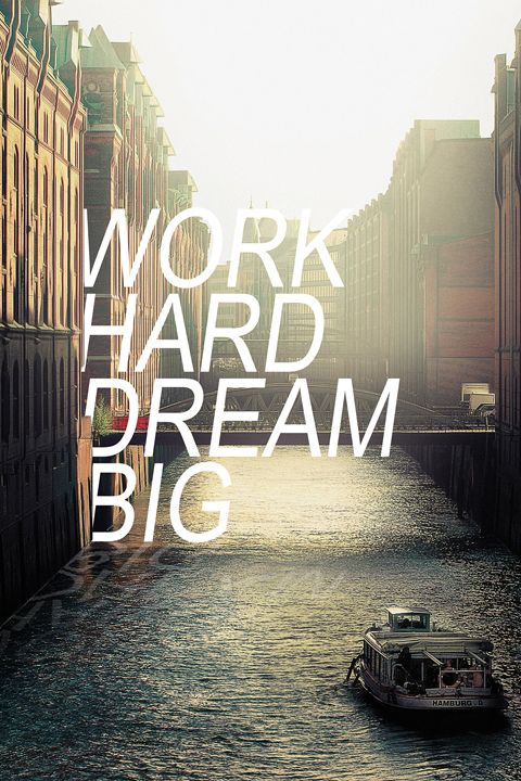 Work hard dream big - Alexandre Ibáñez