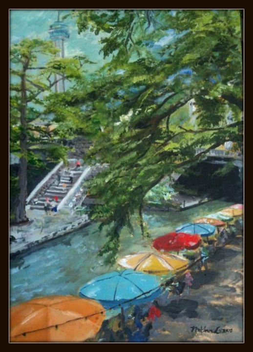 Riverwalk - Nathan Evans' Artwork
