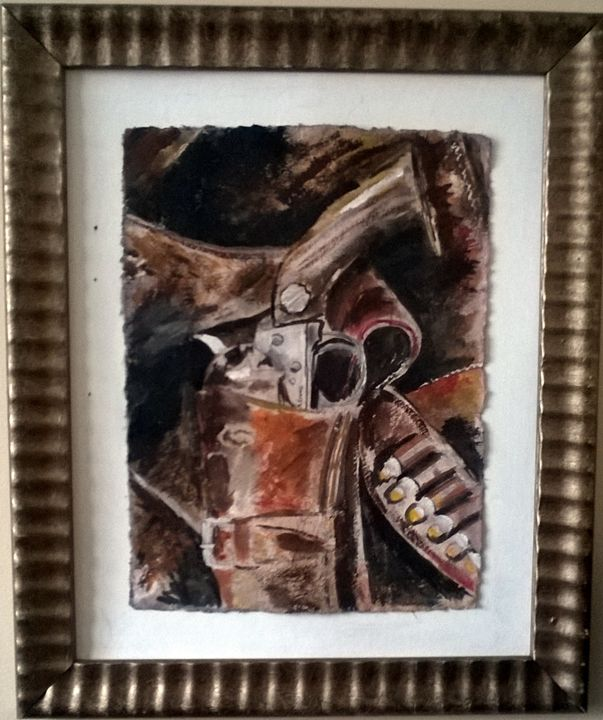 The Slinger - Nathan Evans' Artwork