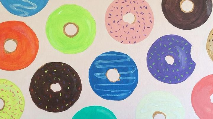 Psychosomatic Donuts - Brittany's Art