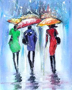 Abstract Rainy Fantasy