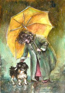 Rainy fantasy
