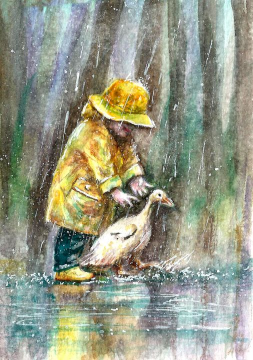 Funny rain - NatalyArt