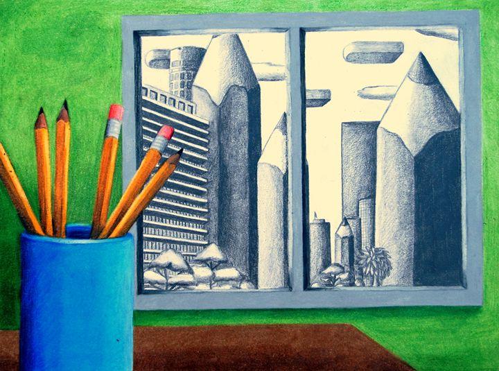 Pencil City - Rosey_RachelleAnn