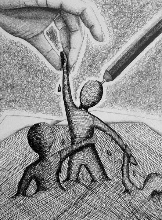 Pen People Coming Out - Rosey_RachelleAnn
