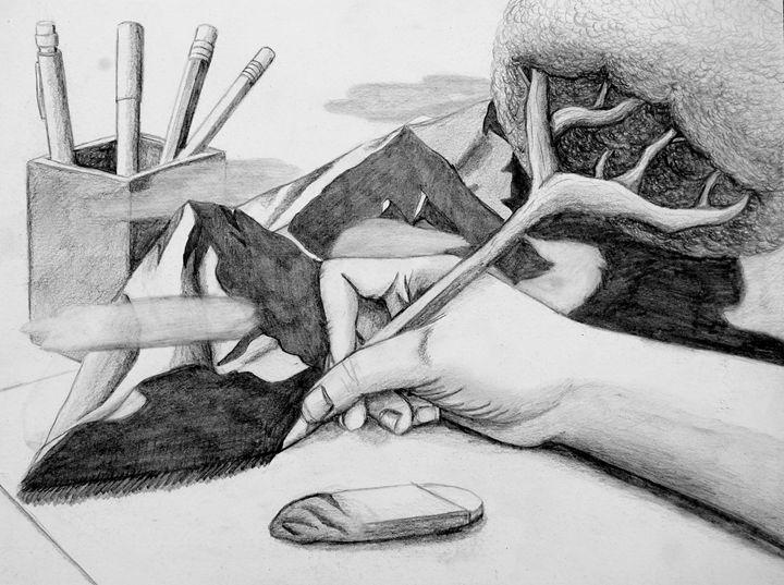 Naturalistic Drawing - Rosey_RachelleAnn