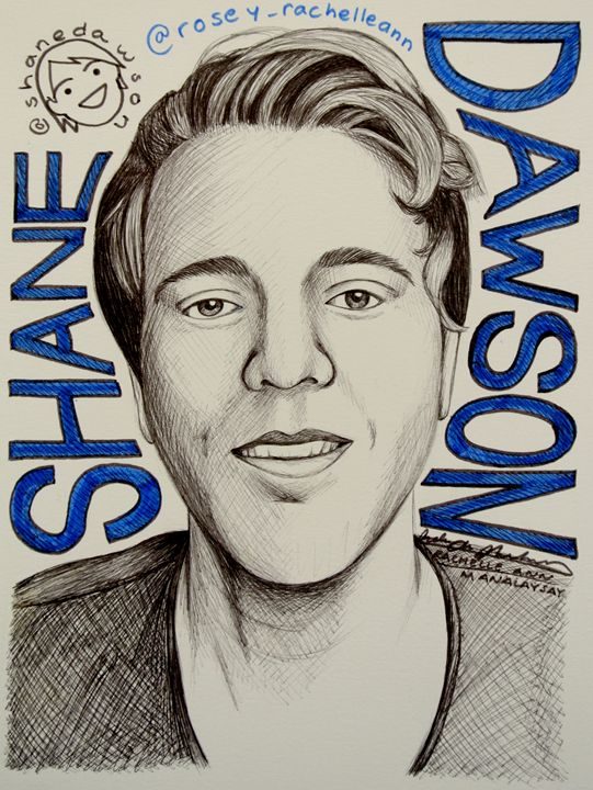 Shane Dawson Portrait/Fanart - Rosey_RachelleAnn