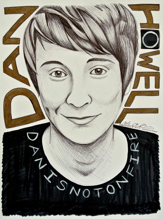 Danisnotonfire Portrait/Fanart - Rosey_RachelleAnn