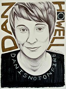Danisnotonfire Portrait/Fanart