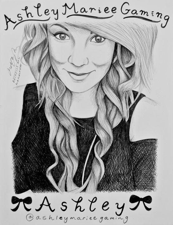 AshleyMarieeGaming Portrait - Rosey_RachelleAnn