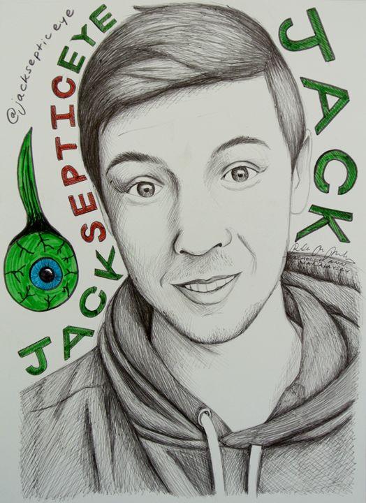 Jacksepticeye Portrait - Rosey_RachelleAnn