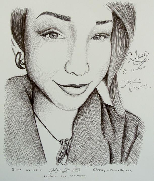 itsalesa portrait/fanart - Rosey_RachelleAnn