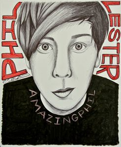 AmazingPhil Portrait/Fanart