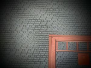 Misplaced door