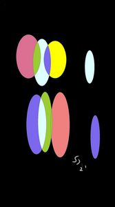 Colored ovals