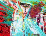 Original painting 'The Prophetess'