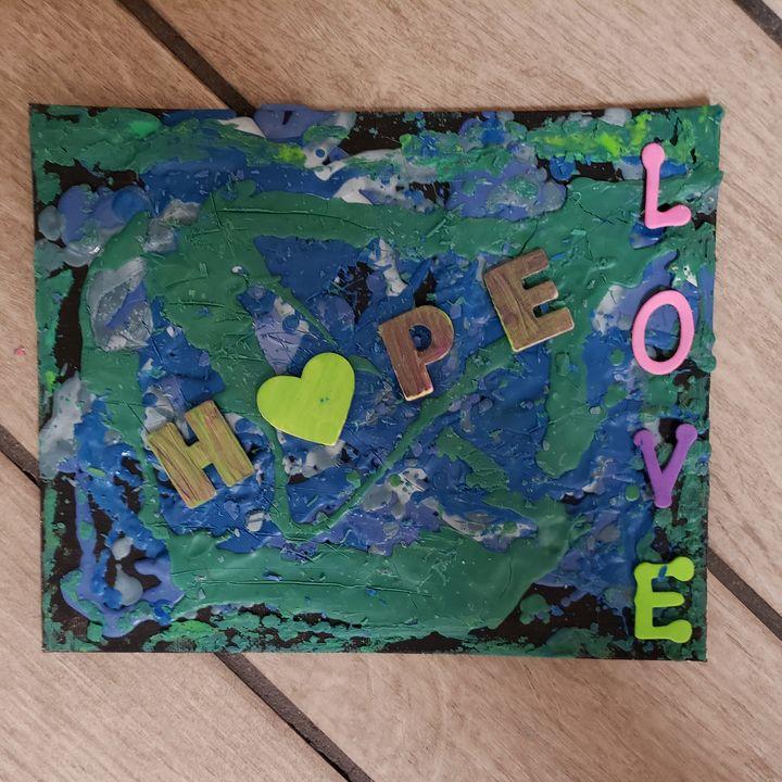 Hope & Love - Tiffs Designs