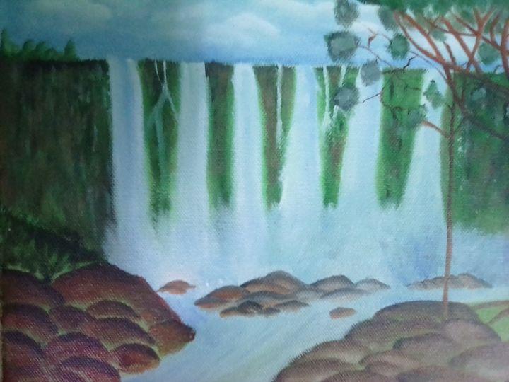 Scenery falls - angel arts