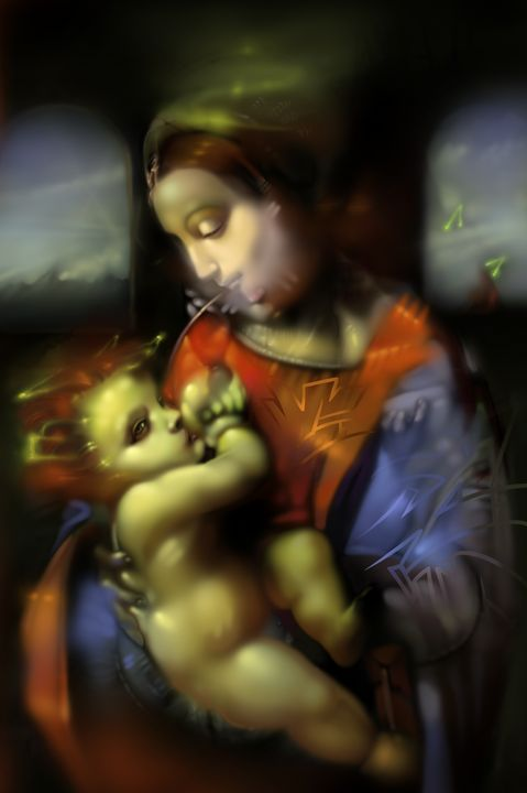 Mother & Child In Transitory Embrace - semigod.com