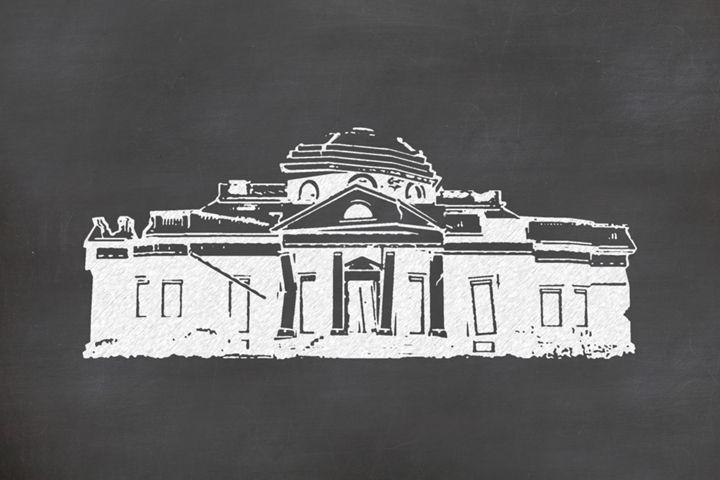 White Monticello - Daniel Calder
