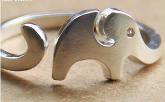 Elephant open ring - LovingRings