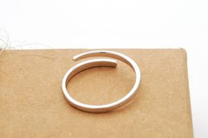 Simple open ring