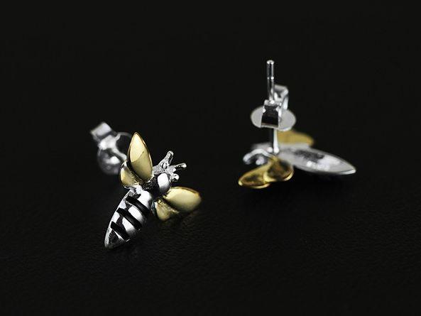 earrings bees - LovingRings