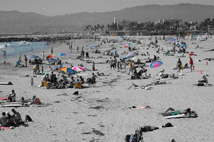 Santa Monica Light & Shade - Keith-Michael's PhotoArt