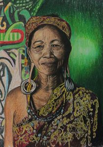 Borneo's lady