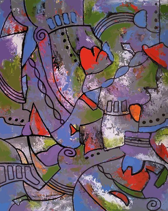 """Poppy"" - Artwork by Lynne Neuman"