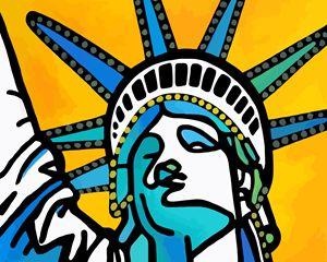 Statue of Liberty New York - Artwork by Lynne Neuman