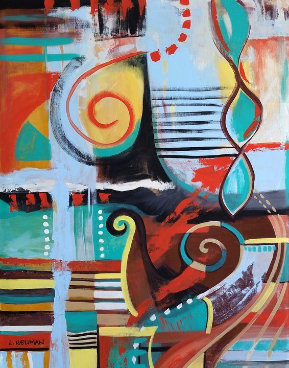 """Swan"" - Artwork by Lynne Neuman"