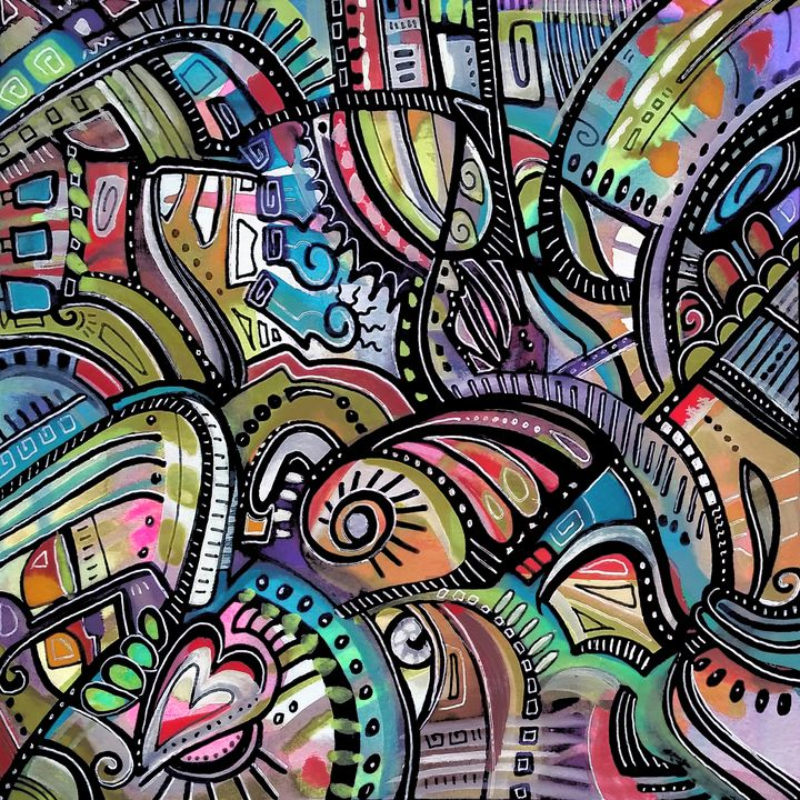 """Mora"" - Artwork by Lynne Neuman"