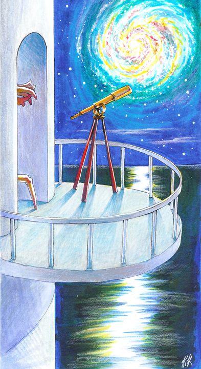Galactic Night - Kathleen Kralowec