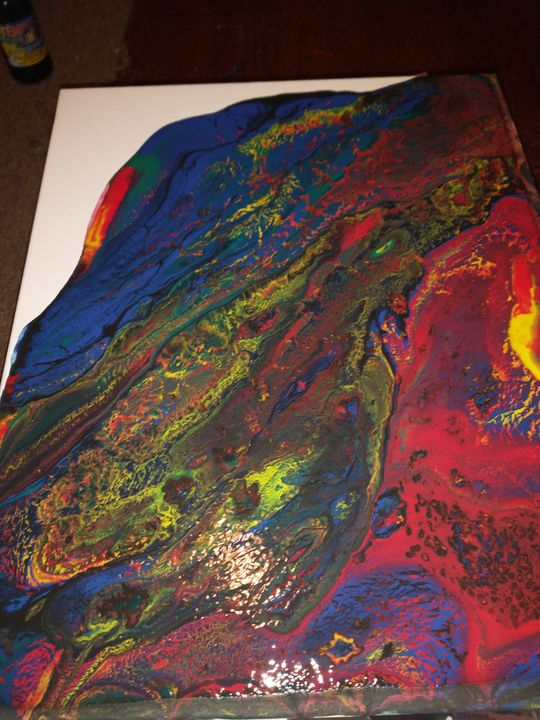 Fluctuations - Abstract acrylic paintings