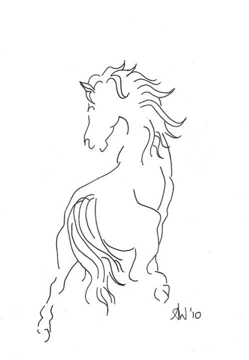 Paris Horse - simply angela