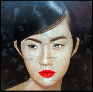 Portrait by Dương Văn Thiện