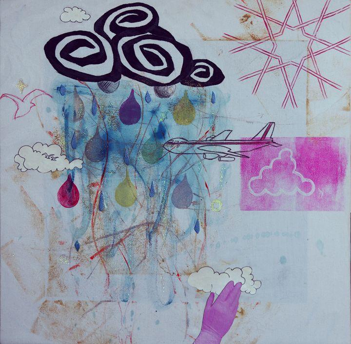 Glittery Storm - ArtSempek