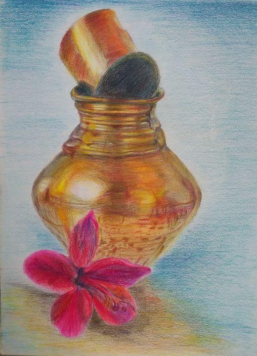 brass vessel - Rupashree