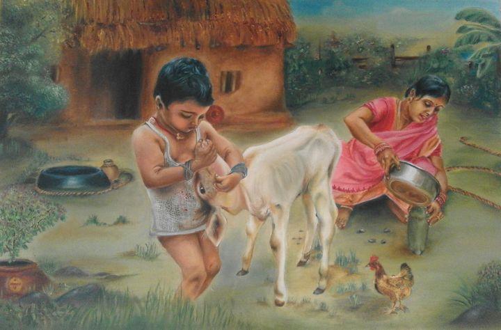 village life - Rupashree