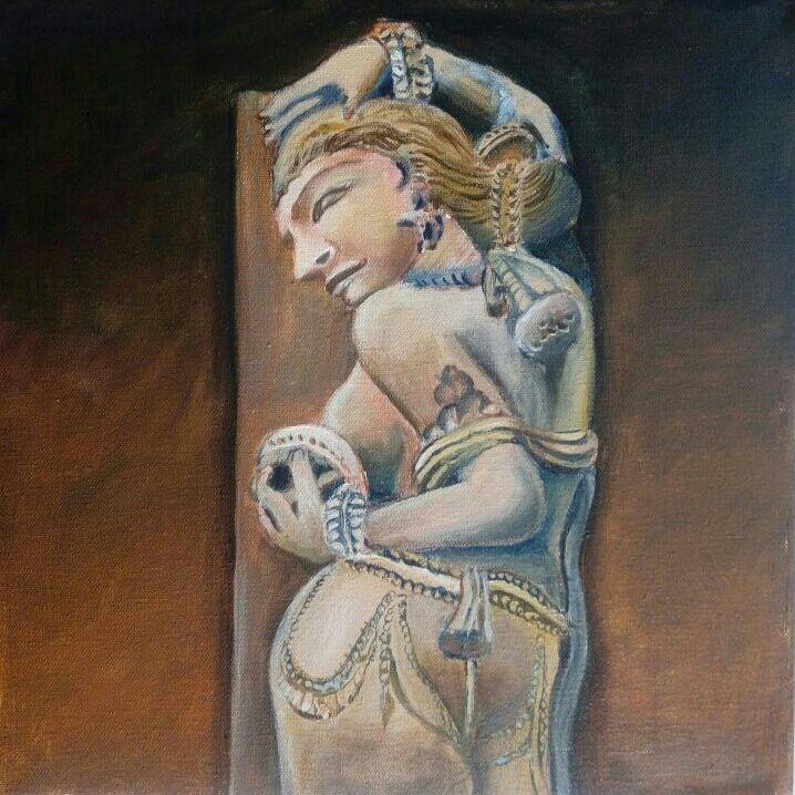Dancing stone - Rupashree