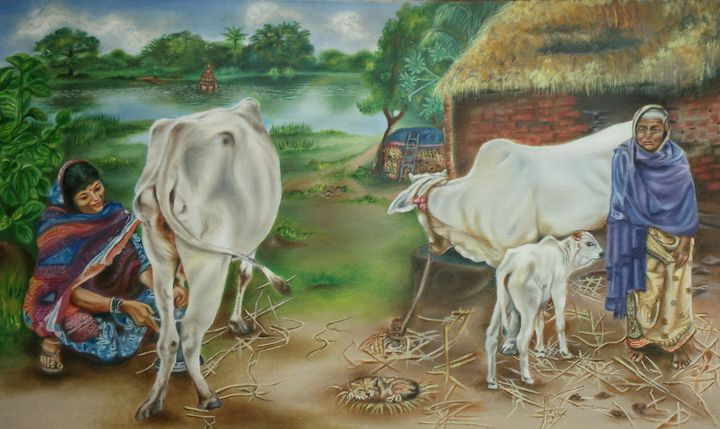 Village life 2 - Rupashree