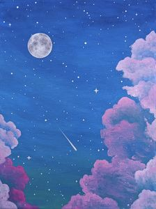 Cloudy Pink Space