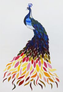 Peacock of a Different Color
