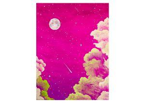 Pink Peaceful Sky